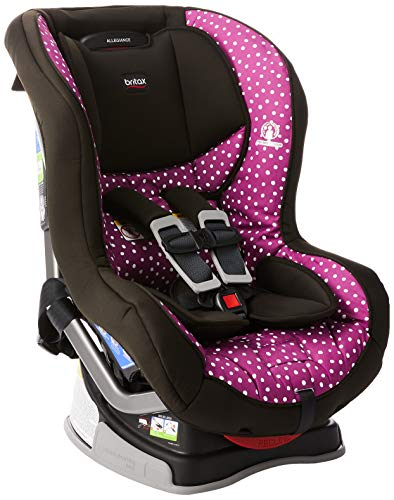 Britax Allegiance 3 Stage Convertible Car Seat | 1 Layer Impact Protection - Rear & Forward Facing - 5 to 65 Pounds, Confetti