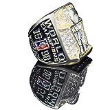 GJJ Europa und Amerika Herrenringe, 1998 Jahr Europa und Amerika NBA Bulls Championship Custom Replica Ring Edelstahl Diamantringe für Männer Memorabilia Geschenk Größe 11