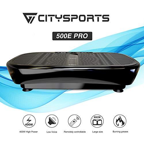 Plateforme Vibrante et Oscillante CS-500E PRO de CITYSPORTS