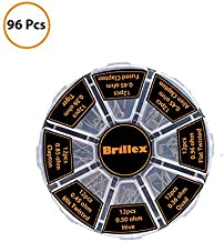 96pcs Prebuilt Resistance Wire Premade Set 8 Different Types -for Electrical Use