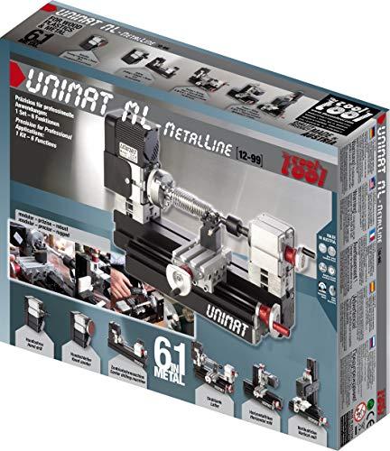 Unimat ML – Einzigartige Maschinenvarianten – Überzeugt jeden PROFI – Bearbeitet alle Kunststoffe, Leicht- und Buntmetalle mühelos – STABIL und PRÄZISE