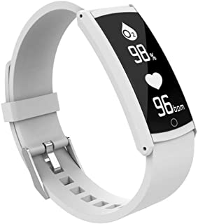 Delicate Smart Watch Bluetooth 4.0 Sports Fitness Activity Heart Rate Monitor Tracker Blood Pressure Watch for Android and...