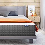 Sweetnight Queen Mattress, 10 Inch Gel Infused Memory Foam Queen Size Mattress for Motion Isolation/Cooling Sleep/Pressure & Pain Relief with Medium Firm Feel, Mattresses Queen