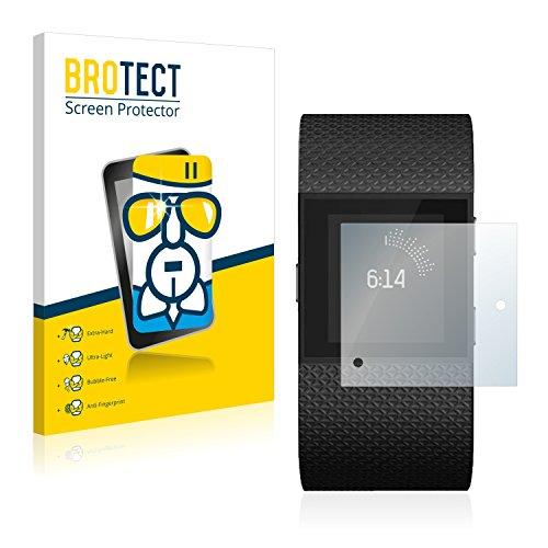 BROTECT Panzerglas Schutzfolie kompatibel mit Fitbit Surge - AirGlass, extrem Kratzfest, Anti-Fingerprint, Ultra-transparent