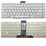 US White English Keyboard (Without palmrest) Replacement for HP Stream 14-CB 14-CB010DS 14-CB010NR 14-CB011DS 14-CB011WM 14-CB012DS 14-CB012DX 14-CB012WM 14-CB013DS 14-CB013DS 14-CB013WM 14-CB030NR