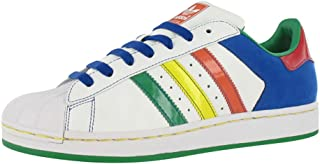 Adidas Superstar Ii Cb Mens Shoes White/multi-color Size 8.5