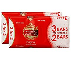 Imperial Leather Original Soap. Enjoy imperial Leather soap's rich and creamy lather as it cleans and cares for all the family. You�??ll love the classic fragrance in this long lasting bar. Imperial Leather Soap has been trusted by generations. 100 g...