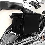 Defensa de Motor para Harley Davidson Street 750// Rod 15-19 Craftride SR1 Negro