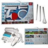 include cristal case e gloove Wii Olimpic Game Pega 22 in 1