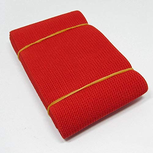 2 Yards 2.7 Inch Nylon Sewing Elastic Band Soft Skin Band Underwear Pants Decorative Elastic Webbing Bias Binding Tapes DIY Accessories-Elastic Bands Webbing for Garment Sewing Decoration Craft DIY