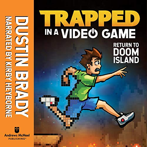 Return to Doom Island audiobook cover art