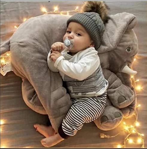 60 cm Baby Elefanten Kissen zuverlässige und niedliche kleine Elefanten Kissen lustige Elefanten Spielzeug für Kinder weiches Schlafkissen