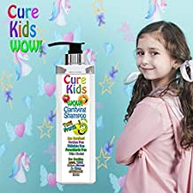 Cure Kids Wow! Tutti Fruity Clarifying Shampoo Paraben Free, Deep Cleaner, Lice Repellent. Swimmers Safe for all little ones children child baby babies hair (8 fl oz)