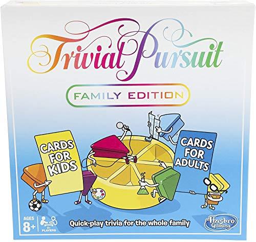 Hasbro Trivial Pursuit Family Edition Juego de Mesa (Idioma español no garantizado)
