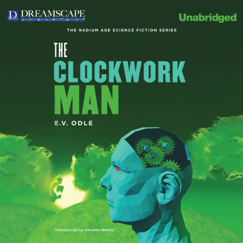 The Clockwork Man audiobook cover art