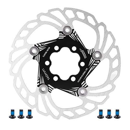 VGEBY Disco de Freno Flotante de Bicicleta, 140 mm de Acero