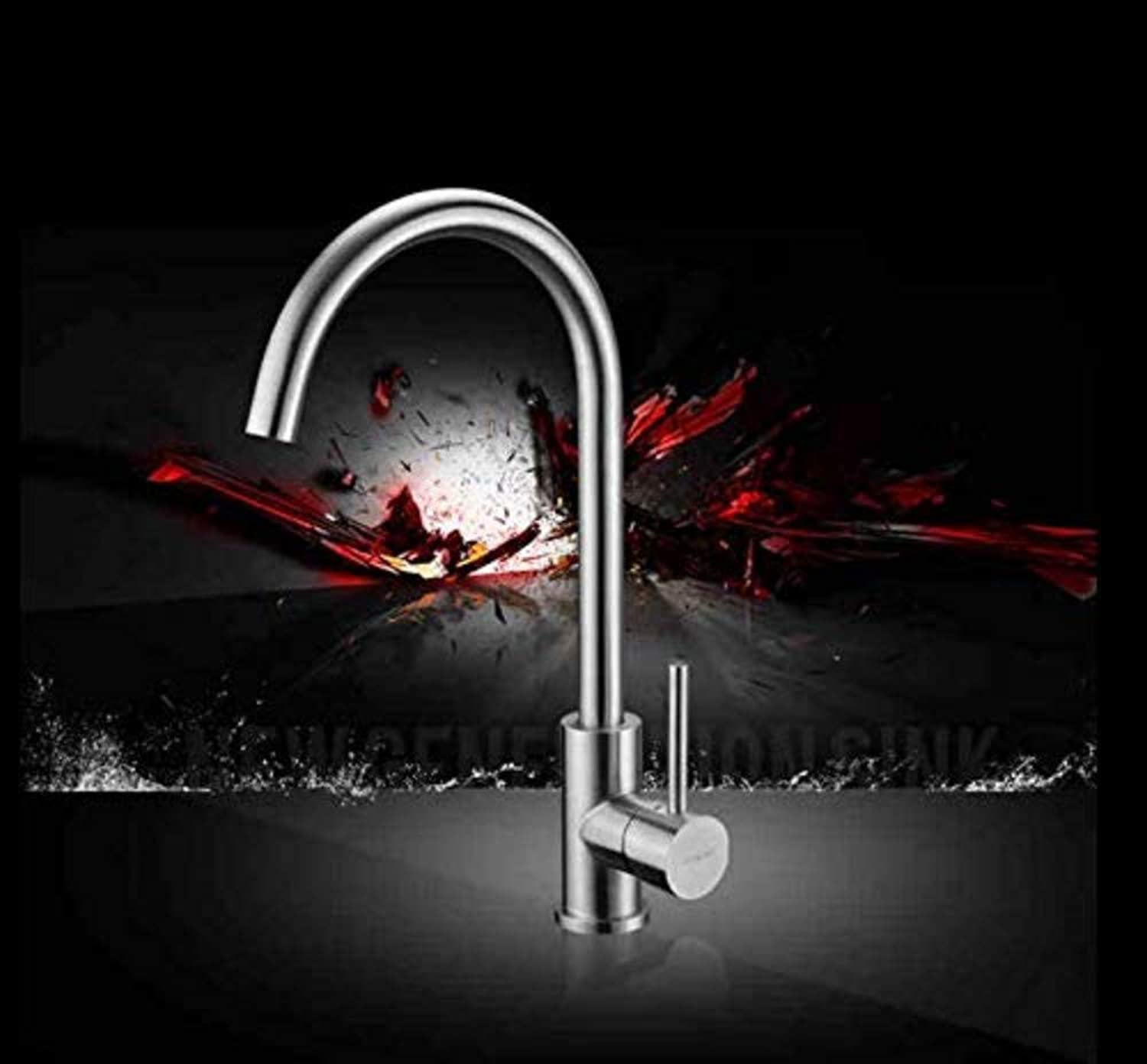 360° redating Faucet Retro Faucetstainless Steel Faucet Sink with Faucet Faucet