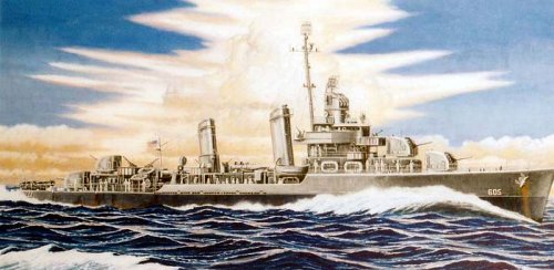1/700 U.S. Navy destroyer Caldwell W66 (japan import)