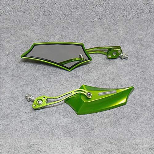 Motorfiets Wijziging Accessoires Elektrische Auto Booster Scooter Mannen Auto Spiegel Universele Aluminium Achteruitkijkspiegel Motorfiets onderdelen te koop