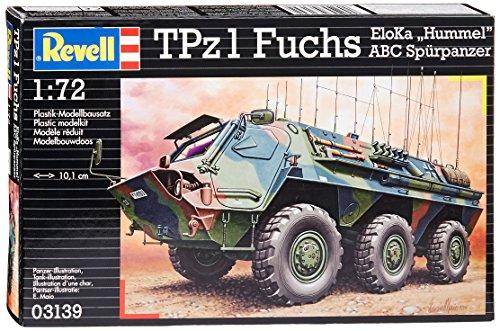Revell 03139 Modern German TPz Fuchs Eloka Hummel/ABC Model Kit, 1:72 Scale