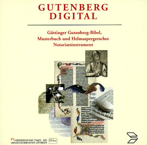 - Gutenberg digital. 2 CD- ROMs für Windows 95/98/ NT und Mac/ PowerMac ab 7.x