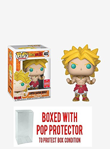pop Funko Dragonball Z Broly Summer Convention Exclusive Bundled with PROTECTOR image