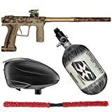 Action Village Planet Eclipse Etha 2 Contender Paintball Gun Package Kit (HDE Earth, Tank Size: 68/4500)