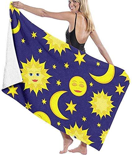 Houlipeng Sun Moon and StarsTowel Bath Towel