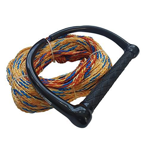 Zhaolan-Digital Tester Accesorios de Surf Cuerda de tracción de Pescado Volador de Cuerda de wakboard con Mango de EVA de 15 Pulgadas (Color : Type4)