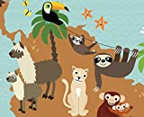 viilou Weltkarte für Kinder Poster XXL Bilder Kinderzimmer