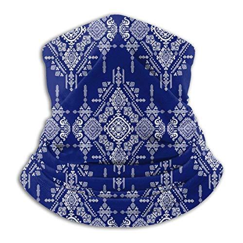 Jwohek Tribal azteca Vintage microfibra cuello calentador bufanda clima frío invierno deportes al aire libre Bandana Balaclava Unisex