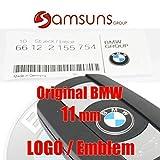 Stemma Chiave Telecomando BMW M Logo BMW Serie 1, 3, 5, 6, 7, 11 mm (Metallo) 66122155754