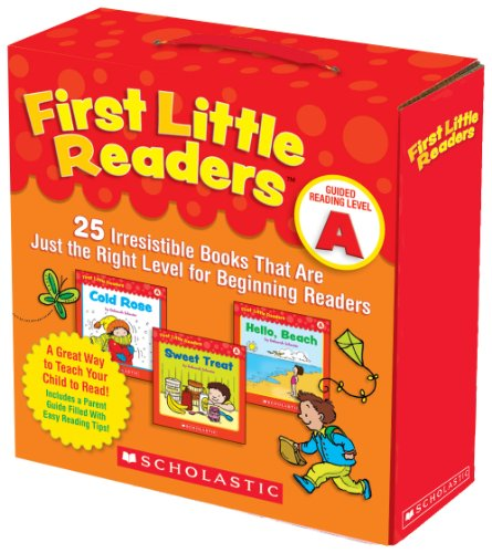 Compare Textbook Prices for First Little Readers Parent Pack: Guided Reading Level A: 25 Irresistible Books That Are Just the Right Level for Beginning Readers Box Edition ISBN 9780545231497 by Schecter, Deborah
