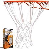 Reemplazo de red de baloncesto resistente – redes gruesas para todo tipo de clima, se aj...
