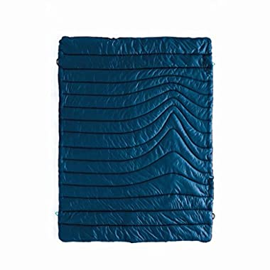 Rumpl The Original Puffy Blanket, Deepwater Blue, 1-Person