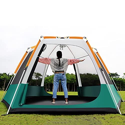 LJFLI Carpa para Camping 5-7 Personas automáticas y Simples Libres para Construir Calor espesante Anti-tormenta y Protector Solar