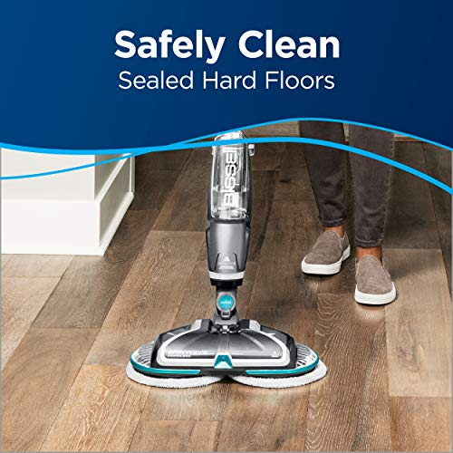 Bissell Spinwave, 2307 Cordless Hard Mop, Wood Floor Cleaner and Buffer