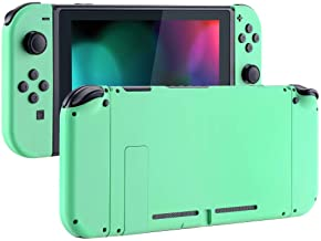 eXtremeRate Back Plate for Nintendo Switch Console, NS Joycon Handheld Controller Housing with Full Set Buttons, DIY Replacement Shell for Nintendo Switch
