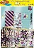 Panini France SA- Packs Loisirs LOL 2 Trading Cards Pack de Ocio 2021 – 1 Porta Tarjetas + 24 Bolsillos, Color (003850SPF)