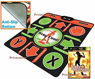DDR XBox Non-Slip Dance Pad with Ultramix 3