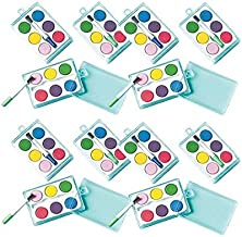 amscan Watercolor Paint Sets , Party Favor , Pack of 12