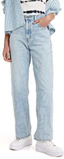 Women's High Waisted Straight Jeans