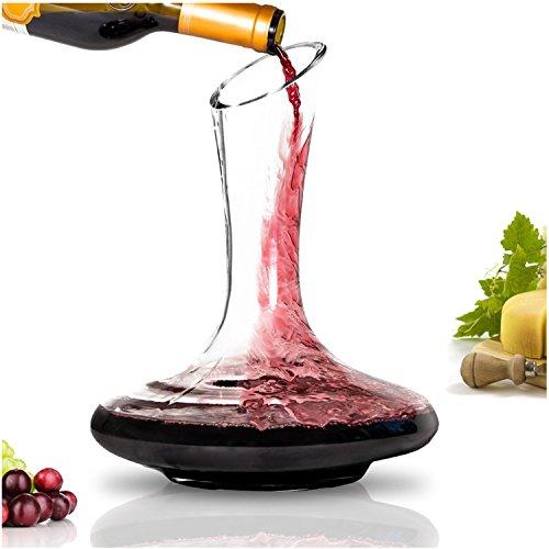 BTaT- Wine decanter, 40 oz, Wine Carafe, Wine Decanters and Carafes, Wine Carafe Decanter, Decanter Wine, Wine Carafe Decanter, Wine Gifts, Small Wine...