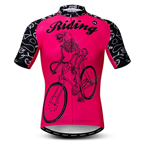 Weimostar Maillot de Ciclismo Hombres Ropa de Bici Maillot de Bicicleta Top...
