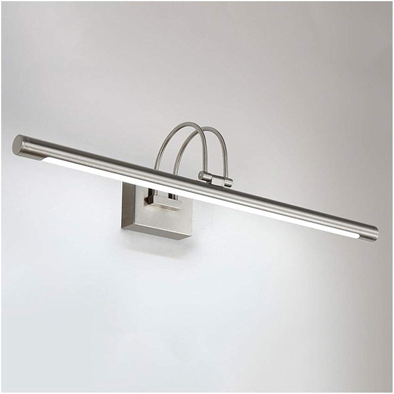 Bad Spiegelleuchten LED Spiegel Scheinwerfer Wasserdicht Anti-fog Badezimmerspiegelschrank Lampe Retro Badezimmer Make-Up Lampe Spiegellampe [Energieklasse A +] (Farbe   Warmes weies Licht-35cm)