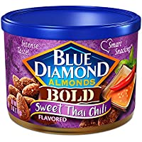 2-Count Blue Diamond Bold Sweet Thai Chili Almonds 6 Oz