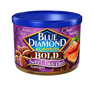 Blue Diamond Almonds Sweet Thai Chili Flavored Snack Nuts, 6 Oz Resealable Can (Pack of 1) (B01MYERLPZ) | Amazon price tracker / tracking, Amazon price history charts, Amazon price watches, Amazon price drop alerts