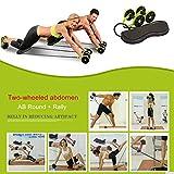 YANGSANJIN Doppelräder Ab Roller Pull Seil Taille Bauch Abnehmen Ausrüstung Muskeltrainingsgeräte Heimfitnessgeräte - 5