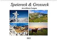 Speiereck & Grosseck (Wandkalender 2022 DIN A2 quer): Impressionen von den zwei Skibergen im Lungau (Monatskalender, 14 Seiten )