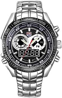 Men Watch LED Pointer Waterproof Montre Sports Watches for Men Black
